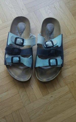Biozone Sandalias cómodas azul claro-azul