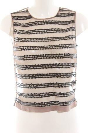 Birger et Mikkelsen Mouwloze blouse room extravagante stijl