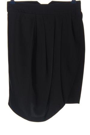 Birger et Mikkelsen Asymmetrische rok zwart casual uitstraling