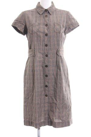 Birger et Mikkelsen Shortsleeve Dress light grey-nude allover print casual look