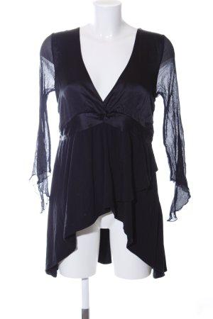 Birger et Mikkelsen Long Sleeve Blouse black elegant
