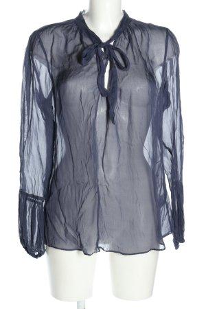 Birger et Mikkelsen Slip-over blouse blauw casual uitstraling