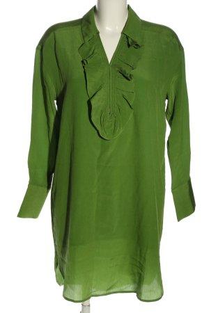 Birgitte Herskind Hemdblousejurk groen casual uitstraling