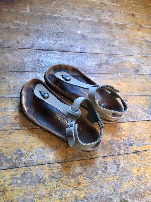 Birkenstock Flip-Flop Sandals khaki-beige