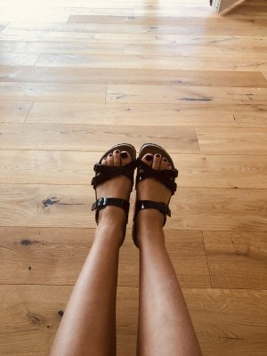 Birkenstock Wygodne sandały czarny