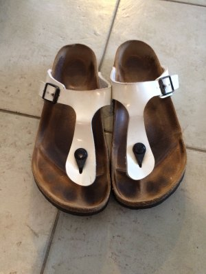 Birkenstock Flip flop sandalen wit