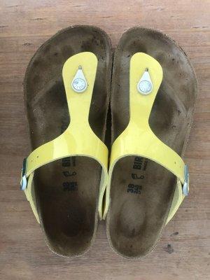 Birkenstock Sandały korkowe  żółty