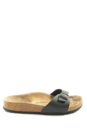 Birkenstock Sandały z rzemykami czarny W stylu casual