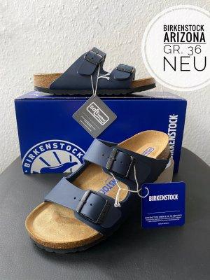 Birkenstock Sandały korkowe  ciemnoniebieski