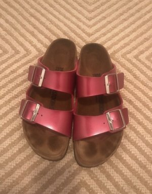 Birkenstock Comfort Sandals pink leather