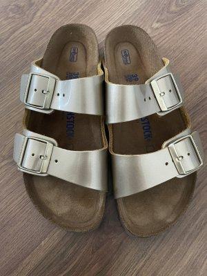 Birkenstock Comfort Sandals gold-colored