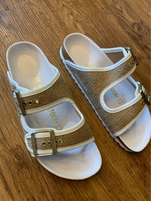 Birkenstock Arizona Nature Jute White