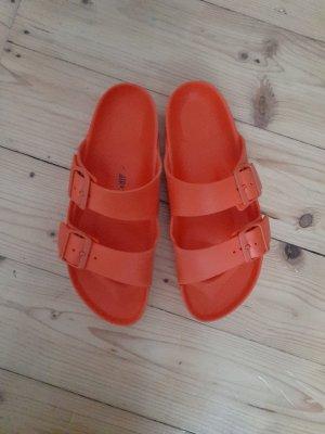 Birkenstock Sandały plażowe pomarańczowy