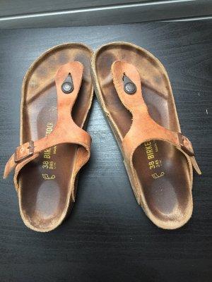 Birkenstock Sandalias con talón descubierto marrón claro-marrón