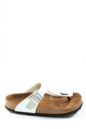 Birkenstock Dianette sandalen zilver casual uitstraling