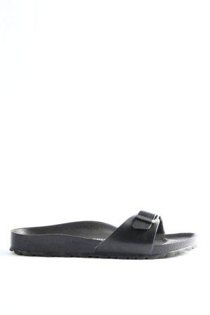 Birkenstock Beach Sandals black casual look