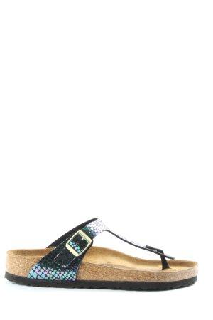 Birkenstock Dianette Sandals animal pattern casual look