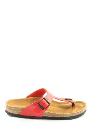 Birkenstock Flip-Flop Sandals red casual look