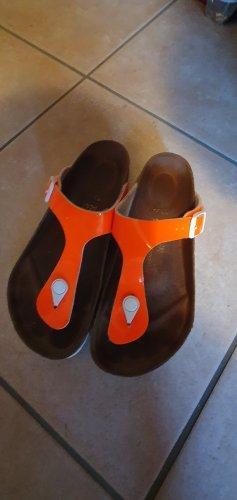 Birkenstock Sandalo infradito arancio neon
