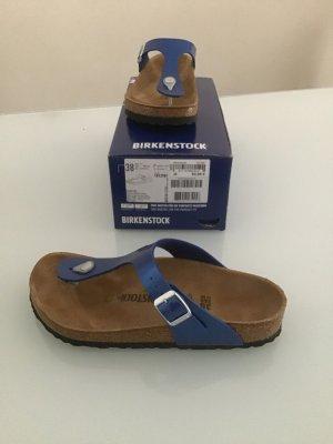 Birkenstock Teenslippers blauw