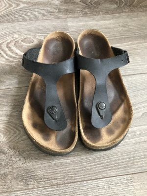 Birkenstock Sandalo toe-post nero