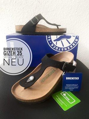 Birkenstock Sandały korkowe  czarny