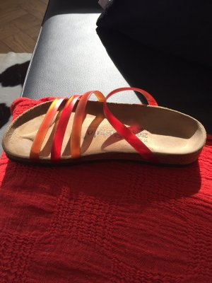Birkenstock, Gr.39,5 Orange-rot