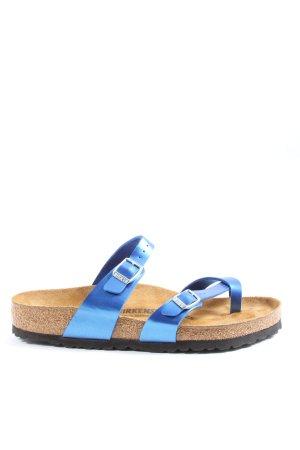 Birkenstock Comfortabele sandalen blauw-wolwit casual uitstraling