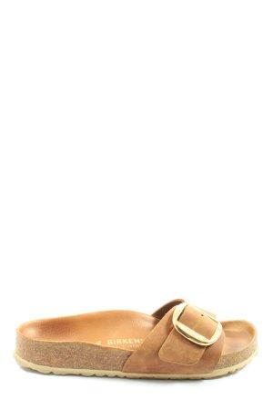 Birkenstock Comfortabele sandalen bruin casual uitstraling