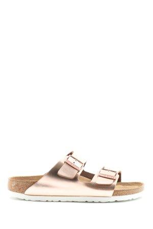 Birkenstock Sandalo comodo oro stile casual