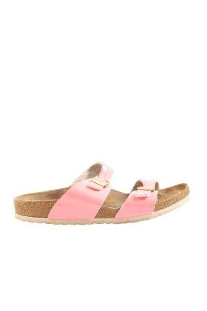 Birkenstock Komfort-Sandalen pink-braun Casual-Look