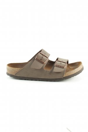 Birkenstock Comfort Sandals light grey casual look