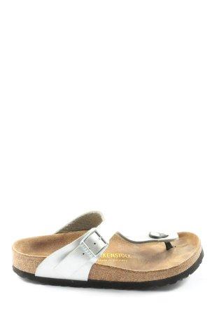 Birkenstock Comfortabele sandalen wit casual uitstraling
