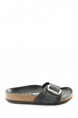 Birkenstock Comfortabele sandalen zwart casual uitstraling