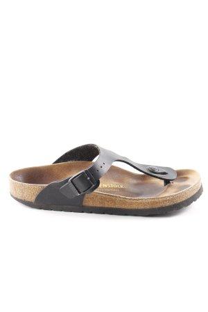 Birkenstock Comfort Sandals black-brown casual look