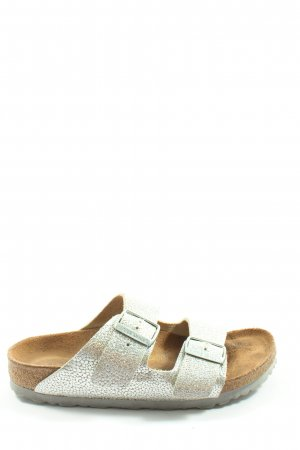 Birkenstock Strapped Sandals silver-colored casual look