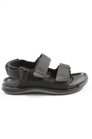 Birkenstock Comfort Sandals light grey casual look