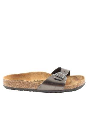Birkenstock Wygodne sandały jasnoszary-brązowy W stylu casual