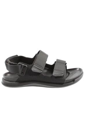 Birkenstock Sandales confort gris clair style décontracté
