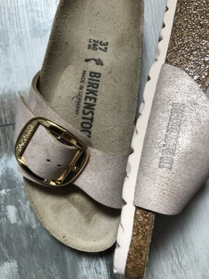 Birkenstock Strapped Sandals rose-gold-coloured