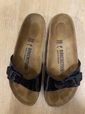 Birkenstock Sandały z rzemykami czarny