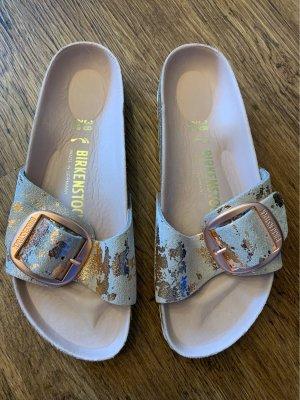 Birkenstock Sandalen met bandjes veelkleurig Leer