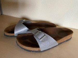 BIRKENSTOCK Madrid Damen Sandale Silber