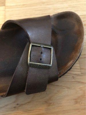 Birkenstock Scuffs grey brown