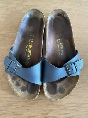 Birkenstock 'Madrid' in blau-metallic