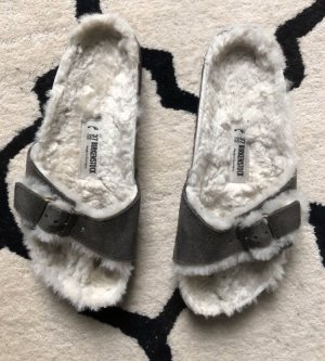 Birkenstock Strapped Sandals multicolored fur