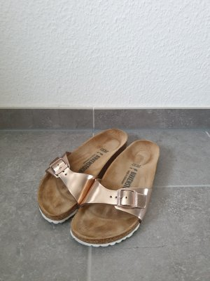 BIRKENSTOCK MADRID metallic copper Gr. 38 schmal