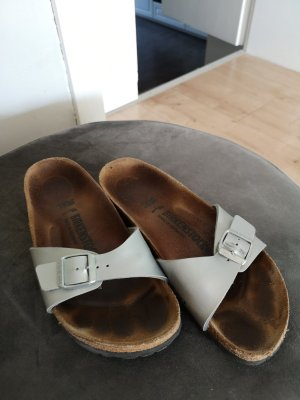 Birkenstock Mules black-silver-colored