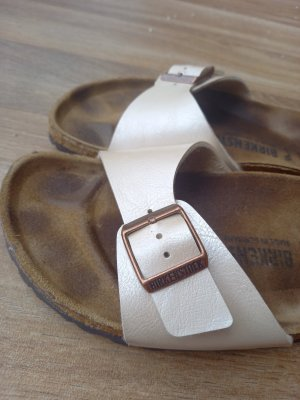 Birkenstock Comfort Sandals natural white