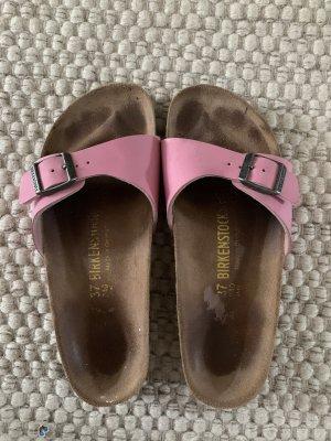 Birkenstock Wygodne sandały różowy-jasny różowy